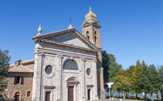 Montalcino St. Peter Church